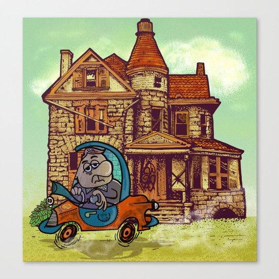 prima casa. Canvas Print