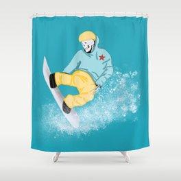 Fast Eddie Shower Curtain