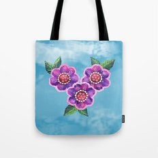 Purple Flowers II Tote Bag