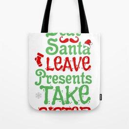 Christmas Santa Sister Santa Claus Gift Tote Bag