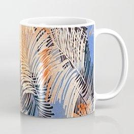 Palm Leaves By Annie Zeno Coffee Mug