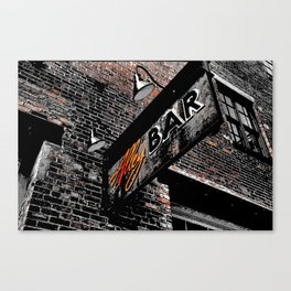 The Alley Bar Canvas Print