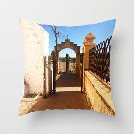 San Xavier 3 Throw Pillow