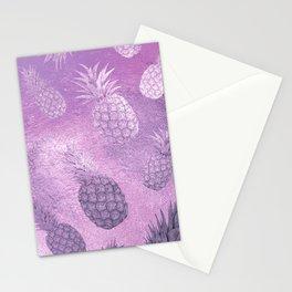 Ananas Fruit Pattern 3 Stationery Cards