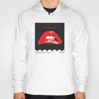 rocky horror picture show Hoodies featuring No153 My The Rocky Horror Picture Show minimal movie poster by Chungkong