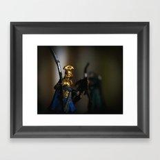 Tolkien Warriors Framed Art Print