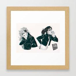 jeanmarco girls Framed Art Print