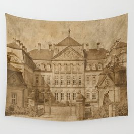 The castle Wall Tapestry