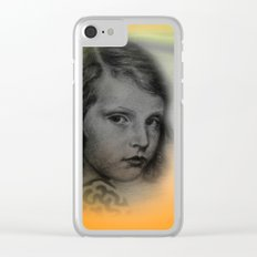 the little girl - vintage -2- Clear iPhone Case