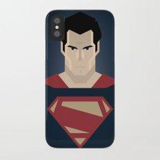 Man of Steel Slim Case iPhone X