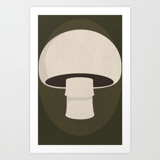 champignon Art Print
