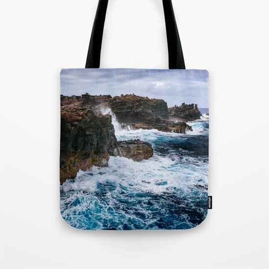 Ocean Power Tote Bag