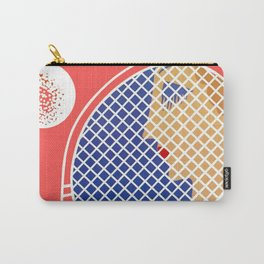 """Love – Tennis Suite"" Art Deco Design by Erté Carry-All Pouch"