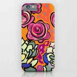 The mesmerising promise of roses iPhone Case