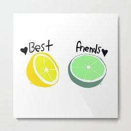 LemonLime Metal Print