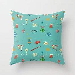 Christmas Story Throw Pillow