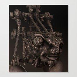 Dr Plugs Canvas Print