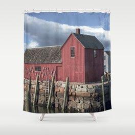 Rockport's Motif #1 Shower Curtain