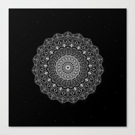 Black  Mandala Canvas Print
