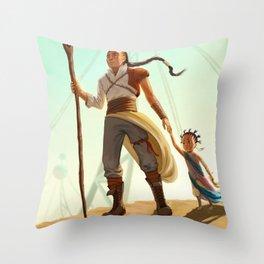 Kioh & Albaïa Throw Pillow