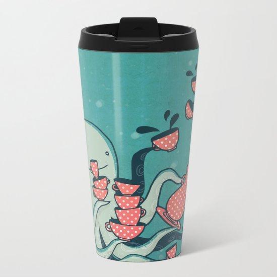 Tea & Tentacles Metal Travel Mug
