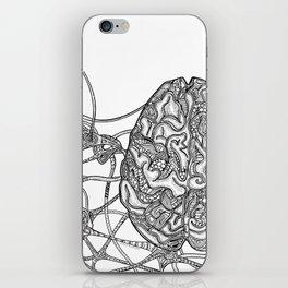 Neurons & Brain iPhone Skin