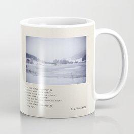 In the bleak mid-winter Coffee Mug