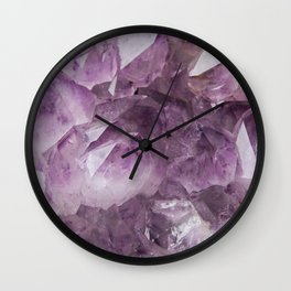 Amethyst No. 2 Wall Clock