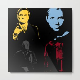 BETTER CALL SAUL Metal Print
