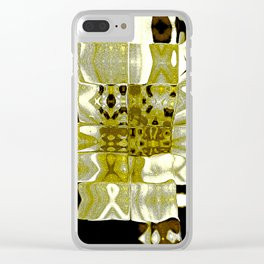 Flower tiger Clear iPhone Case