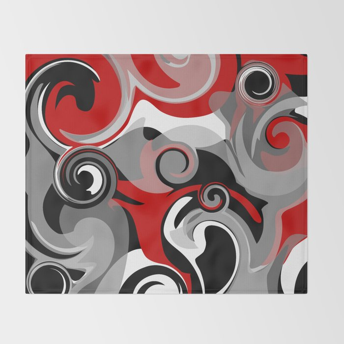 Turbulence Throw Blanket