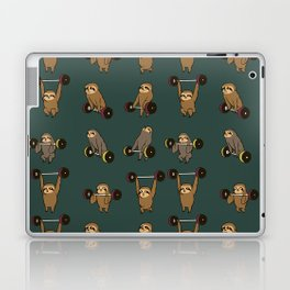 OLYMPIC LIFTING SLOTHS Laptop & iPad Skin