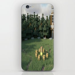 Survival Games - The Forest iPhone Skin