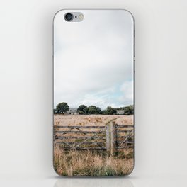 Wheat field in Scotland iPhone Skin