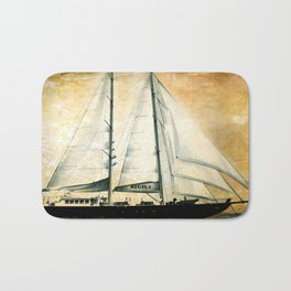 sailboat Bath Mat