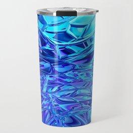 Abstract Crystals Travel Mug