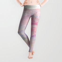You Are Loved Pastel Watercolors Leggings