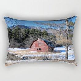 Deserted Barn in the Adirondacks Rectangular Pillow