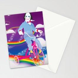 Lisa Frank & Jigsaw Mashup Stationery Cards