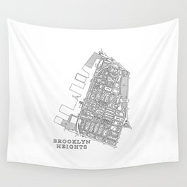 Brooklyn Heights Wall Tapestry