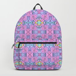 Swirl Heart Pattern Backpack