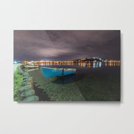 Quiet in the lake Metal Print