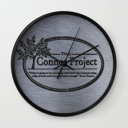 The Connor Project Wall Clock