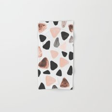 Rounded Triangles Hand & Bath Towel