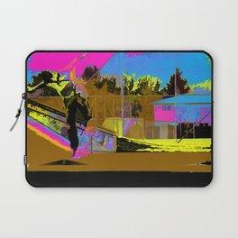 The Lift-Off - Skateboarder Laptop Sleeve