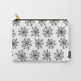 Black Webs Carry-All Pouch