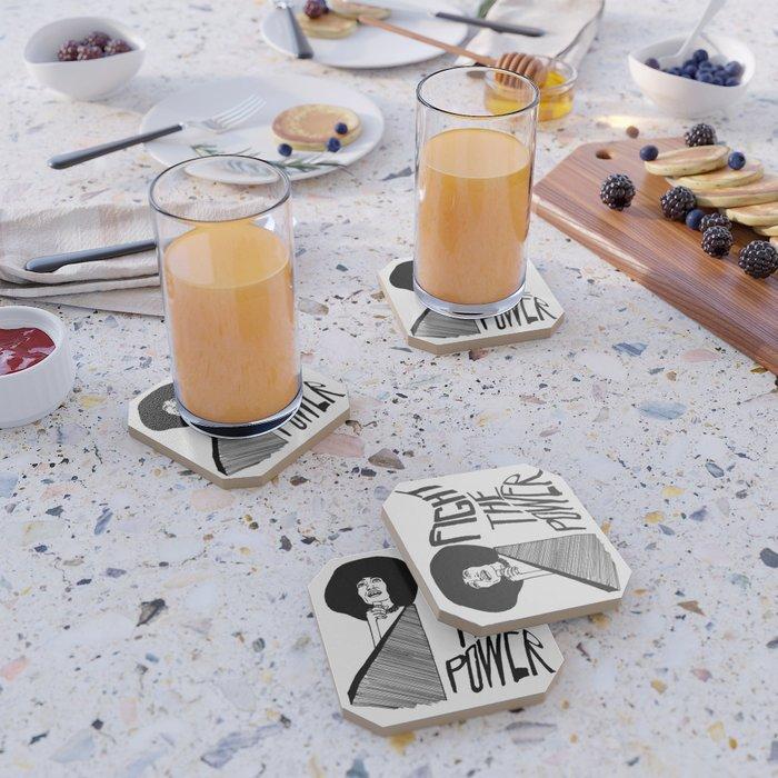 Fight the Power: Angela Davis Coaster
