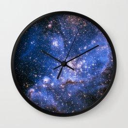 Nebula NGC 346 Wall Clock