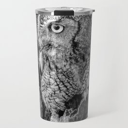 Echo the Screech Owl by Teresa Thompson Travel Mug