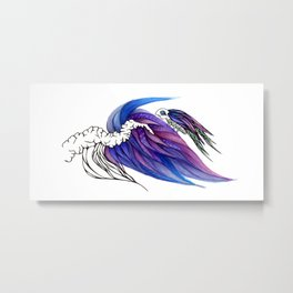 For Dear Life (Hold On) Metal Print